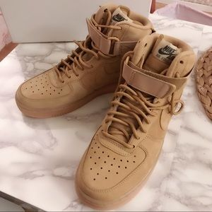 "AIR FORCE 1 HIGH 07 LV8 WB ""FLAX"""